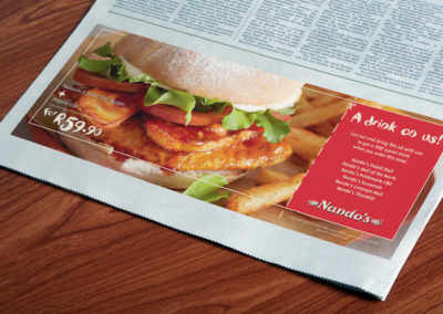 Nando's Rugby World Cup Advert