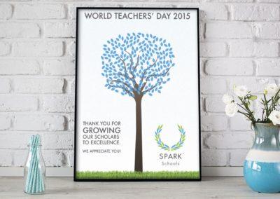 SPARK Schools Printed Teachers Posters