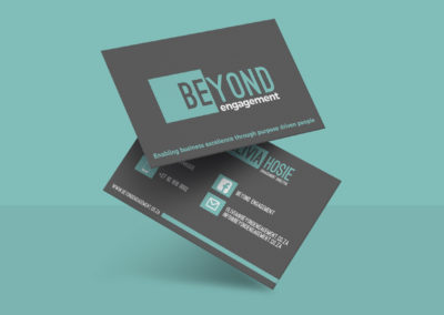 Beyond Engagement Business Cards