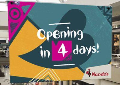 Nando's Countdown Banner