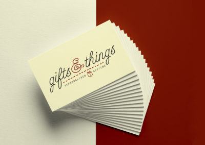 Gifts n Things Business Cards