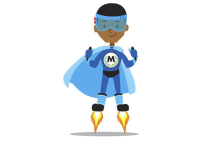 Spark Schools Value Characters Illustration - Mission