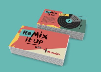 Nando's Mix it up Re-Branding Concept Artwork
