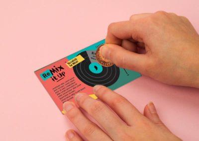 Nando's mix it up scratch card