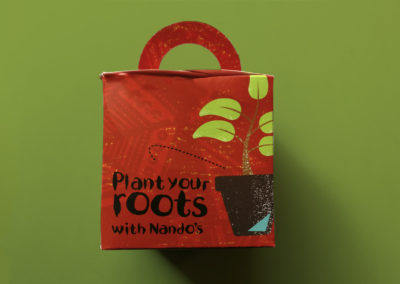 """Nando's """"Plant your roots with Nando's"""" Box"""