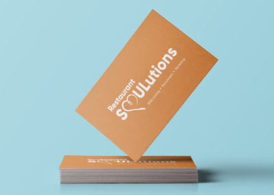 restaurant soulutions business card