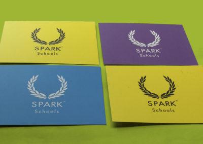 SPARK Schools Printed Cards